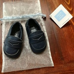 Janie and Jack Crib Shoes